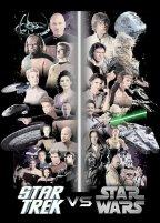 Star Trek vs Star Wars poster