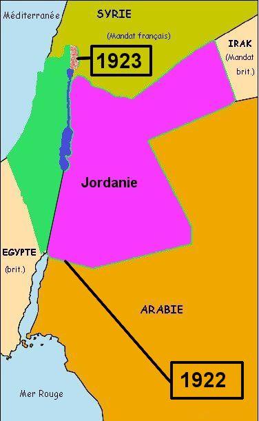 partage de la palestine mandataire